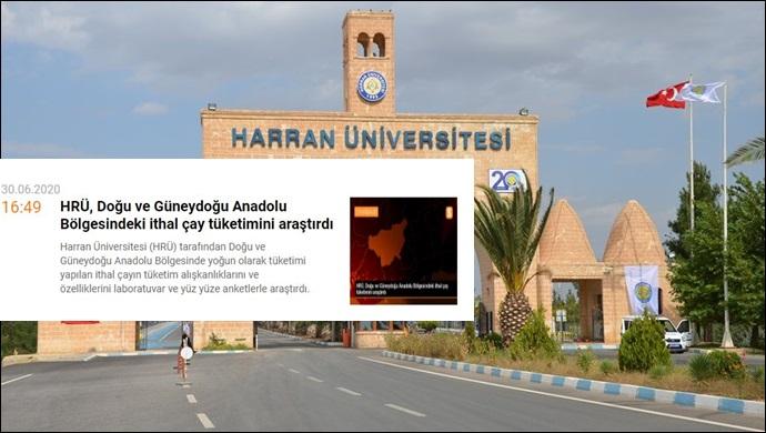Harran Üniversitesi'nden basına çifte standart!