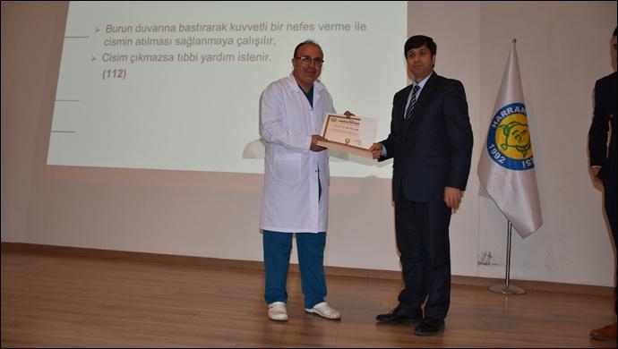 Harran Üniversitesi'nde Acil Durumlar İçin İlk Yardım Eğitimi Verildi