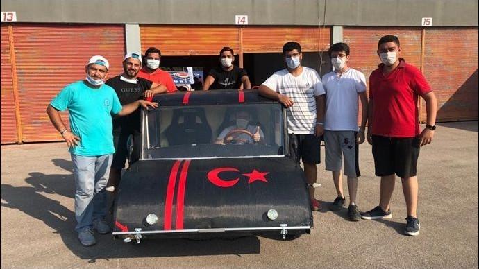 Harran Üniversitesinde Elektrikli Araç Üretildi