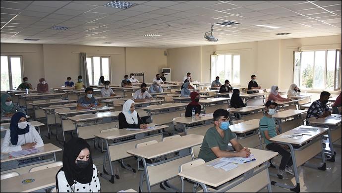 Harran Üniversitesi'nde Uluslararası Öğrenci Sınavının İkincisi Yapıldı