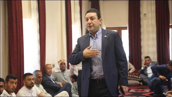 Harran'da Başkan Özyavuz'un Hanesi Dolup Taşıyor
