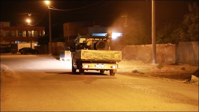 Harran'da Sorunsuz Bir Yaz İçin Ilaçlama Çalişmalari Başladı