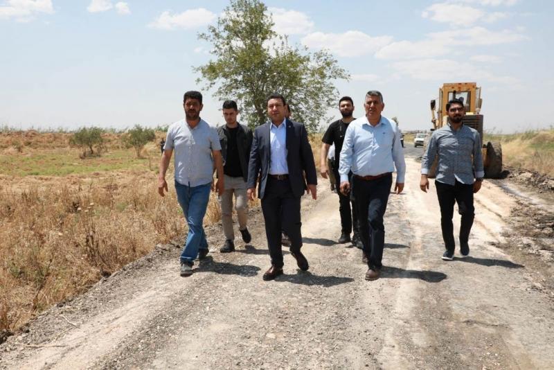 Harran'da yol atağı