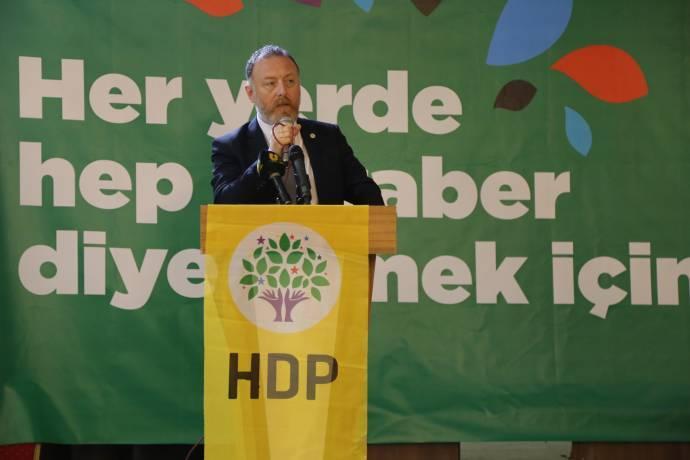 HDP Eş Başkanı Temelli Şanlıurfa'da