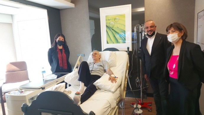 HDP Eş Genel Başkanı Buldan, Türk'ü ziyaret etti