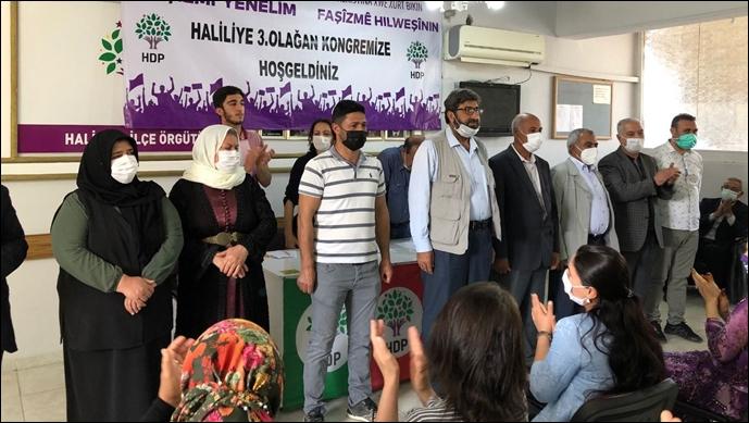 HDP Haliliye'de eşbaşkanlar belli oldu