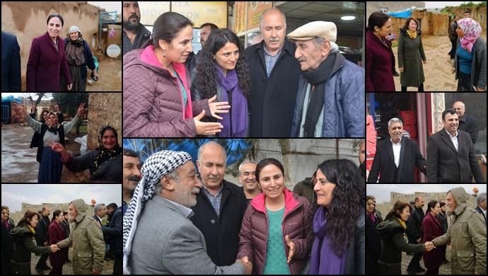 HDP Şanlıurfa'da Çalışmalarına Son Sürat Devam Ediyor