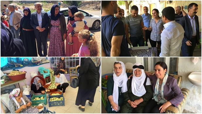 HDP Şanlıurfa'da çalışmalarını sürdürdü
