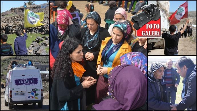 HDP Şanlıurfa'da Gece Gündüz Demeden Yerel Seçime Hazırlanıyor