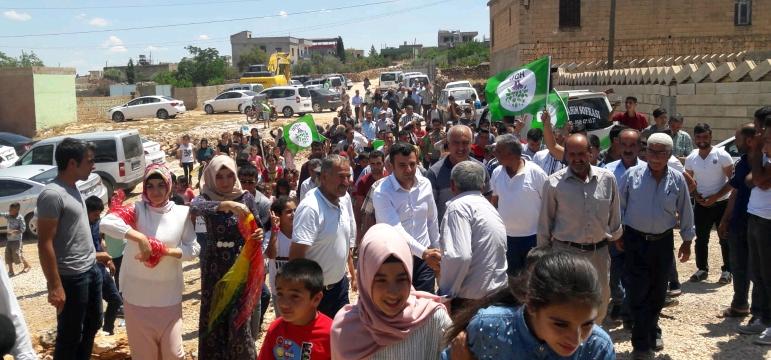 HDP Urfa'da son günde çalıştı !
