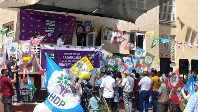 HDP'li Buldan,