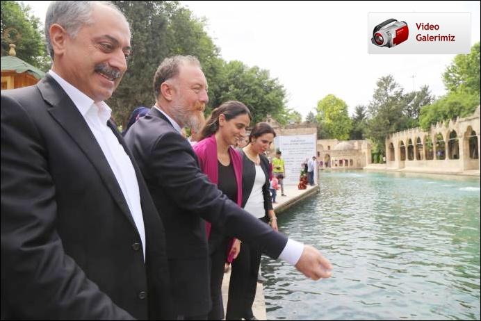 HDP'liler Şanlıurfa sokaklarında yoğun ilgiyle karşılandı
