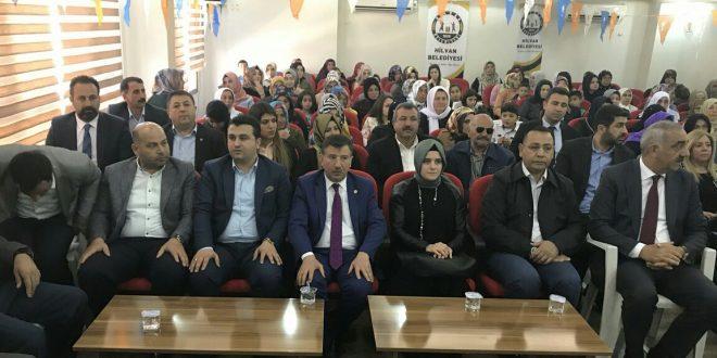 Hilvan Ak Parti Kadın Kolları'nda Hacire Toprak Güven Tazeledi