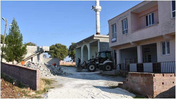 Hilvan Belediyesi çevre düzenleme çalışmaları