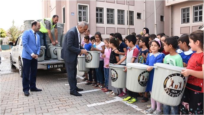 Hilvan Belediyesi'nden Temiz Okul Temiz Çevre Kampanyası