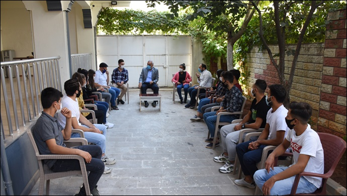 Hilvan BESYO öğrencilerinden Başkan Bayık'a teşekkür ziyareti