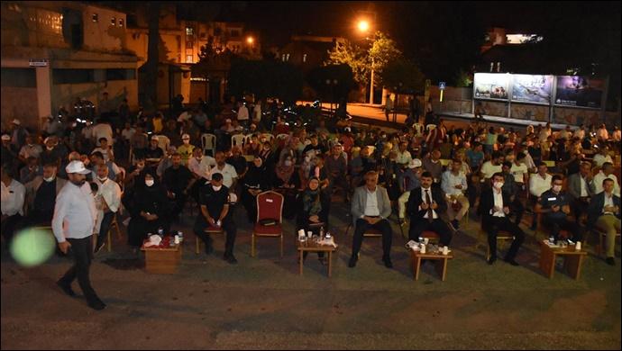 Hilvan'da 15 Temmuz Milli Birlik ve Demokrasi Günü Etkinlikleri