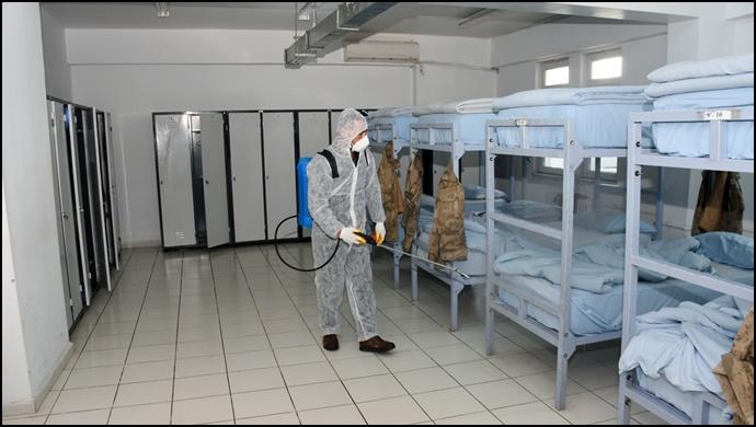Hilvan'da Koronavirüsüne karşı tedbirler aralıksız sürüyor
