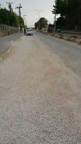 Hilvan'daki Bozuk Yollar Onarım Bekliyor