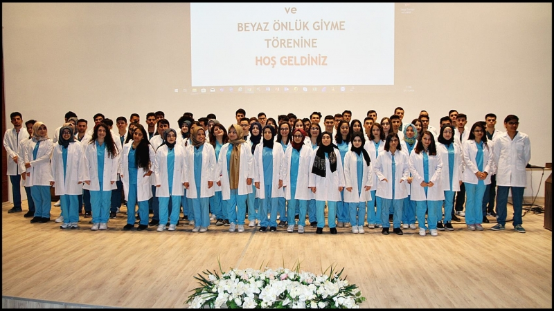 HRÜ Beyaz Önlük Giyme Töreni