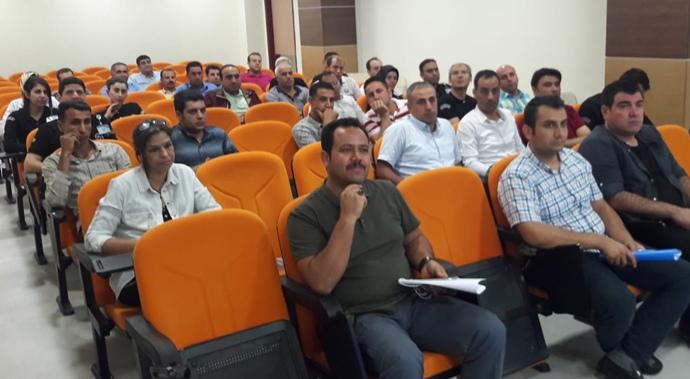 HRÜ Tıp'ta Güvenlik Görevlilerine Eğitim