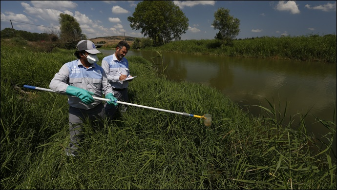 İBB 526 Bin 125 Sivrisinek Üreme Kaynağında İlaçlama Gerçekleştirdi