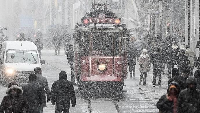 İBB'den kar uyarısı