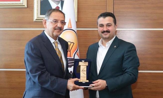 İl Başkanı Yıldız, Ankara'da temaslarını sürdürüyor