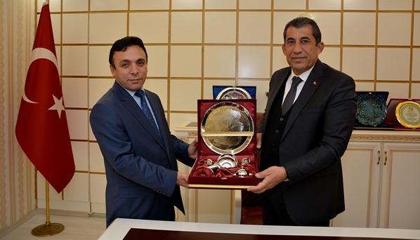 İl Sağlık Müdürü Durgut'tan Başkan Atilla'ya Ziyaret