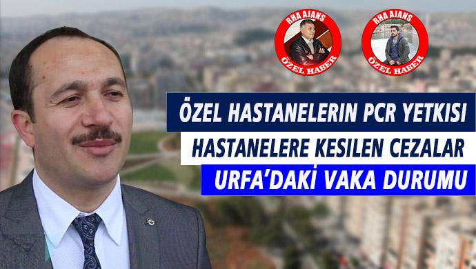"""İl Sağlık Müdürü Erkuş RHA Ajans'a konuştu: """"Vakalar, cezalar, korona testi, özel hastanelere yetki…"""""""