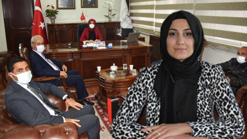 İletişim Başkanlığı'ndan Başkan Ayşe Çakmak'a ziyaret