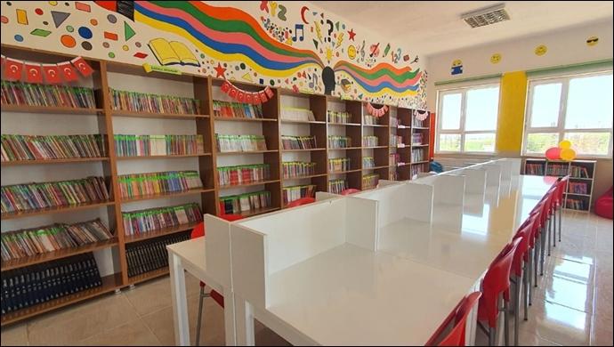 İlk görev yerleri Urfa'ydı: İlk görev yerlerine kütüphane kazandırdılar