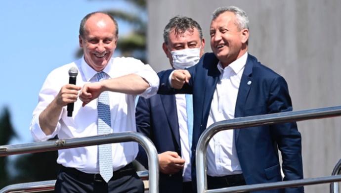 İnce, partisinin ilk il binasını İzmir'de açtı