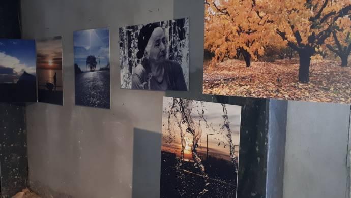İnşaat işçisi Ottaş, fotoğraf sergisi açtı