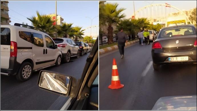 İpekyol'da Maddi Hasarlı Trafik Kazası-(VİDEO)