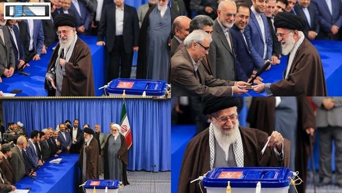 İran'da ilk oy,,,,,