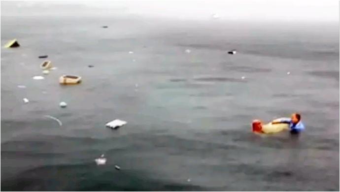 İstanbul'da denize helikopter düştü: 2 yaralı