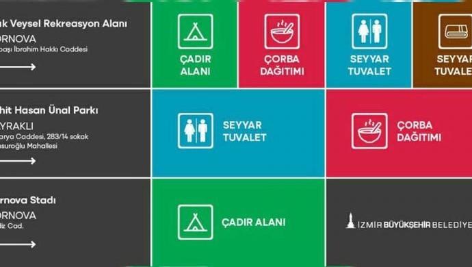 İzmir Belediye Başkanı Soyer'den toplanma alanları duyurusu