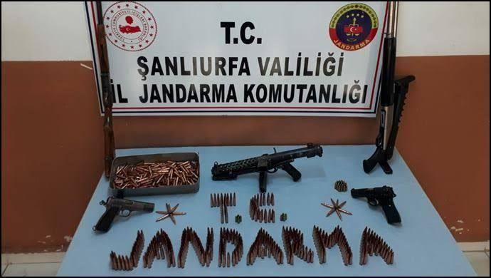 Jandarma'dan Viranşehir'de silah kaçakçılığı operasyonu: 1 gözaltı
