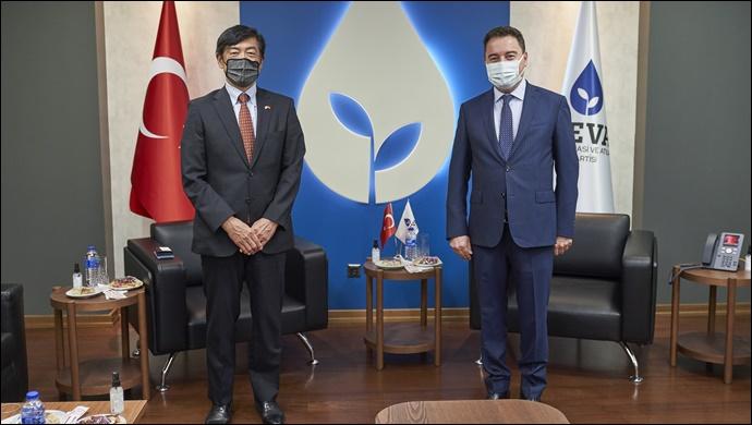 Japonya Büyükelçisi Miyajima, Babacan'ı ziyaret etti