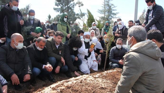 Kadri Yıldırım Diyarbakır'da toprağa verildi