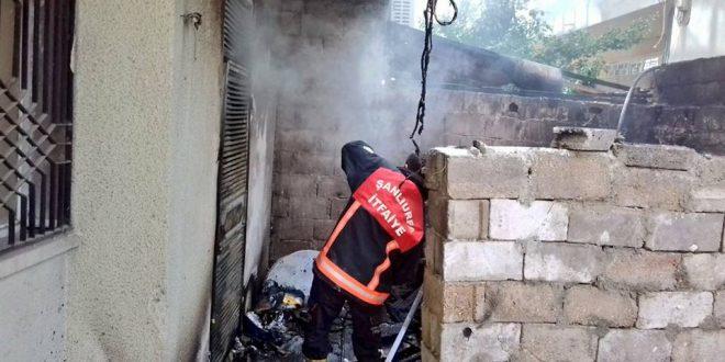 Kamberiye Mahallesi'nde yangın