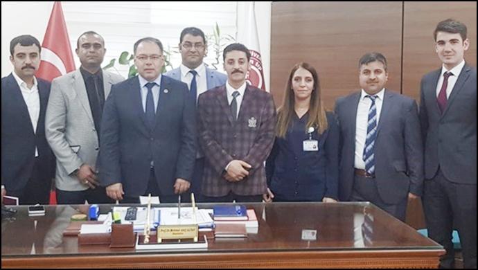 Kamu Sağlık – Sen'den Başhekim Altay'a Ziyaret