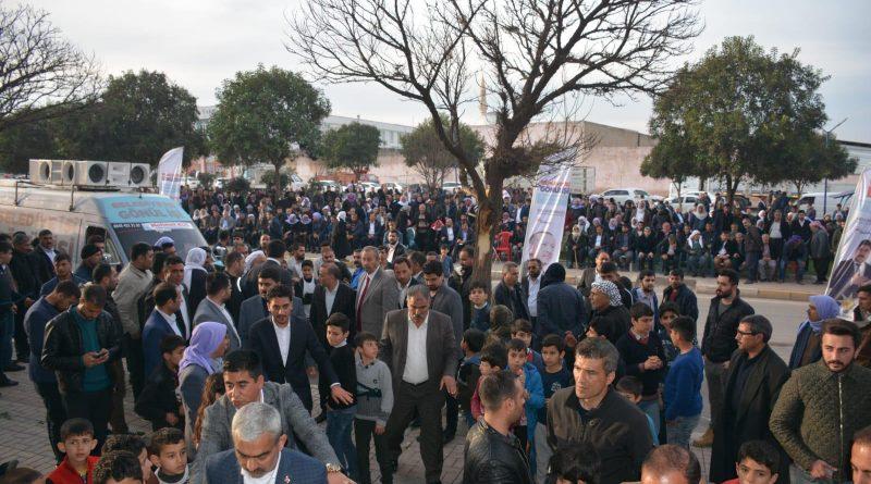 Karageçili'den Mitingi Gibi Bir Seçim Bürosu Daha