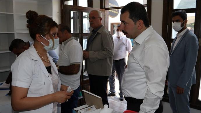 Karaköprü Belediyesi personeli covid-19 aşısı oldu-(VİDEO)