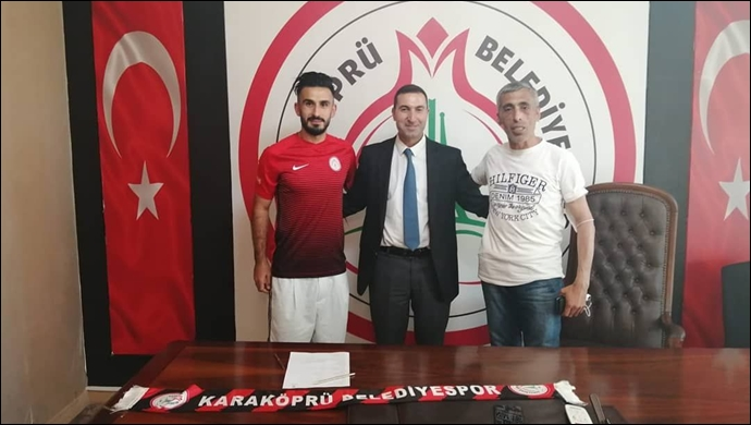 Karaköprü Belediyespor'da Bir Transfer Daha !