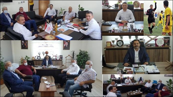 Karaköprü Belediyespor Yönetiminden BB Gençlik Spor Şb. Müdürlerine ziyaret