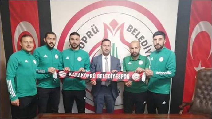 Karaköprü Belediyespor'da 5 Transfer Birden