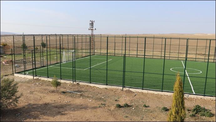Karaköprü Kırsalında Spor Tesisleri Artıyor-(VİDEO)