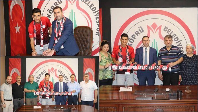 Karaköprü transfere tam gaz devam ediyor: Maraş'tan genç oyuncu Baltacı transfer oldu
